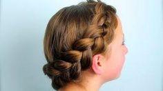 Hairstyle - Wrap-Around Dutch Pancake Braid   Cute Girls Hairstyles