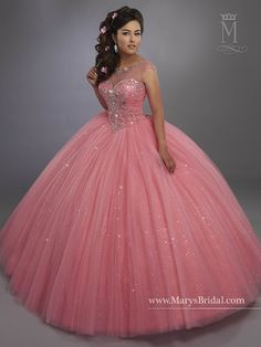 Mary's Bridal Beloving Collection Quinceanera Dress Style 4768