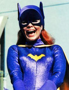 Yvonne Craig as Batgirl, 1960s.