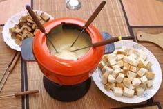 Meat Fondue with four sauces and more recipes