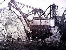 Harrisburg, Illinois - Wikipedia, the free encyclopedia Mining Equipment, Heavy Equipment, Harrisburg Illinois, Cottage Grove, Coal Miners, Abandoned, Egypt, Black Diamonds, Shovel