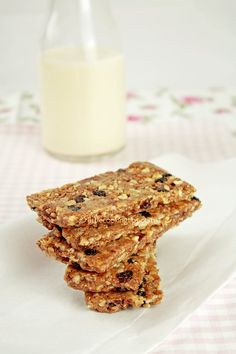 Cinnamon scented energy bars: A healthy snack recipe, perfect for any time of the day