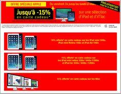 [Offre Spéciale], #Darty prolonge sa promotion sur les produits #Apple: #iPad + #iMac jusqu'au 24 Mars