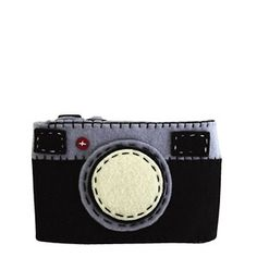 Felt Camera Case Black, $16, now featured on Fab.