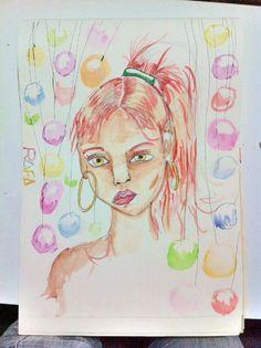 #ilustration #ilustração #aquarela #arte #drawing #draw #art #watercolor #painting #pintura #desenho #a3 #arteindependente #ink #tinta #rabiscos