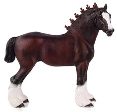 Mojo 2017 Shire Horse figurine www.minizoo.com.au