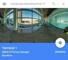 Calculer son itinéraire: aéroport-hôtel à Barcelone