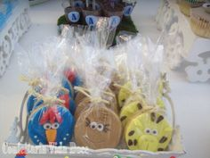 Cookies Galinha Pintadinha