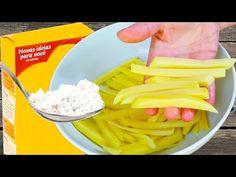 SEGREDO para ficar SEQUINHA e CROCANTE, a Melhor que já comeu! - YouTube Celery, Macaroni And Cheese, Pizza, Vegetables, Ethnic Recipes, Youtube, Food, Quick Snacks, Diabetic Recipes