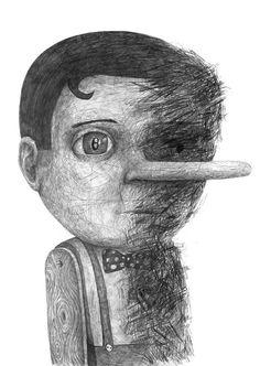 Drawings 2014 Part 2 by Stefan Zsaitsits