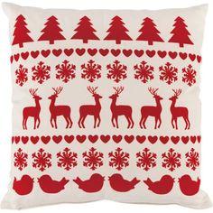 Flock Reindeer cushion