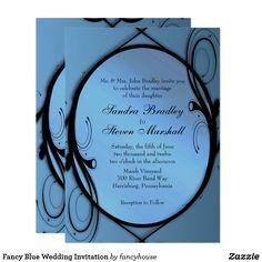 Fancy Blue Wedding I