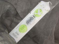 Taufkerzen - Taufkerze - ein Designerstück von meinekerze bei DaWanda