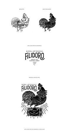 Branding for an argentinian brewery Logos, Logo Branding, Brand Identity Design, Branding Design, Logo Mexicano, Farm Logo, Hand Drawn Logo, Studio Logo, Logo Restaurant