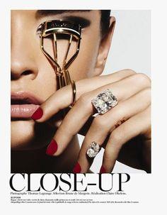 {Crystal Renn x Vogue Paris}