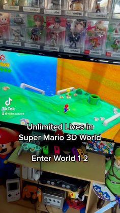 nintenbros64 • Original Audio Super Mario 3d, World 1, Audio, The Originals, Life