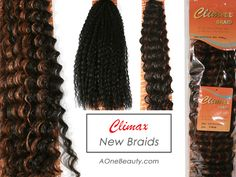 New Climax Braids - Brazilian Braid / Deep Twist Braids http://www.aonebeauty.com/braids/?sort=newest #braids #hairextensions #hairstyle #brazilian