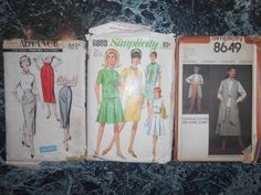 Retro Simplicity Printed Pattern for Misse's by MinaLucinda, $15.00