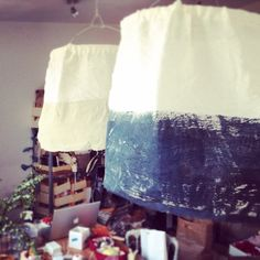 Handmade lights by PenelopeHappyToSeeYou and Ana Deman