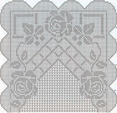 Kira scheme crochet: Scheme crochet no. 898