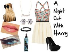 """""""A Night Out with Harry"""" by its-krissy ❤ liked on Polyvore"""