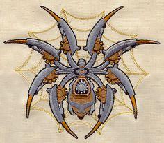 Anachronistic Arachnid design (UT2952) from UrbanThreads.com