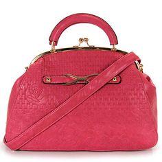 Bolsa Doctor Jannie Polo - Pink - Passarela.com