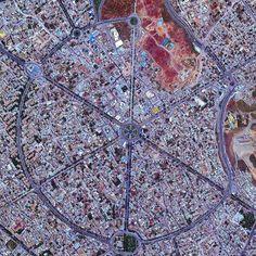 Hamadan city from above, Iranian Kurdistan. Just beautiful !