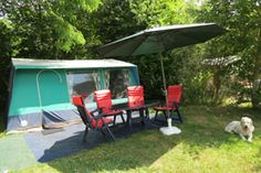 Wat een prachtige royale Bungalowtent voor een onbezorgde vakantie voor ouders en kinderen!