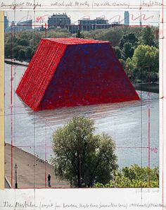 Christo Lands in London With Floating Sculpture and Serpentine Gallery Exhibit