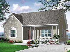 Plan de maison no. W3121-V1 de dessinsdrummond.com