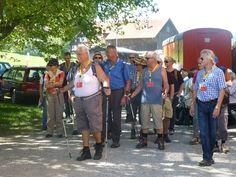 Genuss Wanderung am 22. August 2015 Eine neue Wandergruppe trifft ein