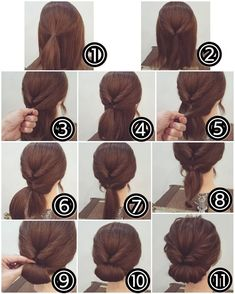 Idea Tendance Coupe & Coiffure Femme Easy Tutorials For Good . - Idea Tendance Coupe & Coiffure Femme Easy Tutorials To Style Your Hair Well – - Easy To Do Hairstyles, Wedding Hairstyles For Long Hair, Easy Hairstyles, Hairstyle Ideas, Hair Ideas, Stylish Hairstyles, Interview Hairstyles, Easy Elegant Hairstyles, Simple Hair Updos