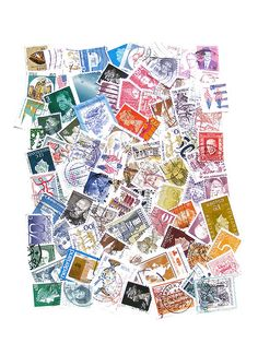 Post Stamp Collage