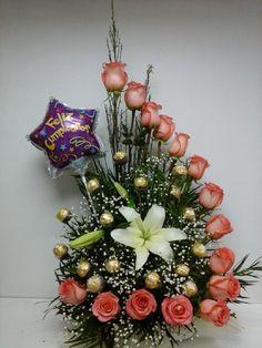 1000 images about arreglos on pinterest ikebana flower - Arreglos florales artificiales centros de mesa ...