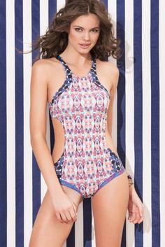 Maaji Swimwear 2015 'Gallop Pineapple' One Piece | Orchid Boutique