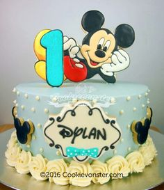 Mickie Cookie Cake