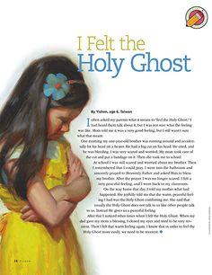 I Felt the Holy Ghost - Modern Lds Primary Lessons, Fhe Lessons, Primary Activities, Church Activities, Object Lessons, Holy Ghost Lesson, Holy Ghost Talk, Baptism Talk, Mormon Baptism