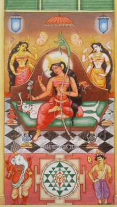 Durga Maa, Durga Goddess, Hindu Deities, Hinduism, Esoteric Art, Gods And Goddesses, Religious Art, Ganesha, Indian Art