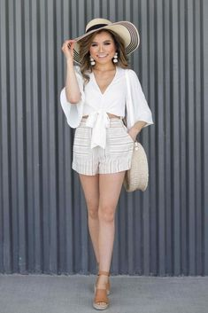 1d25c5ba3f3 54+Secrets To Awesome Casual Outfits Summer Comfy Shorts
