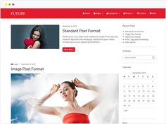 Future - WordPress theme free responsive