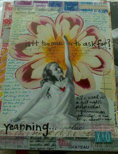 Kelly Kilmer Artist and Instructor: 3 September 2012 Journal Page