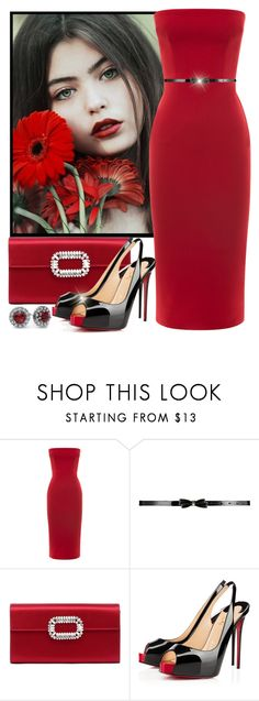 """""""Untitled #1592"""" by gallant81 ❤ liked on Polyvore featuring Roger Vivier and Christian Louboutin"""