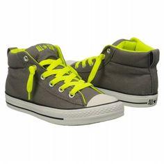 37adb8293c2a Converse All Star Mid Shoes (Nine Iron Neon Yello) - Men s Shoes - 9.5 M
