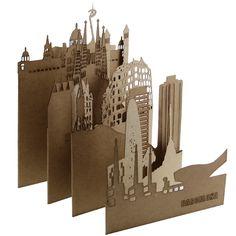 """BARCELONA"" / Europe | Pocket Cities, 2012 | Designed by Salsarela"