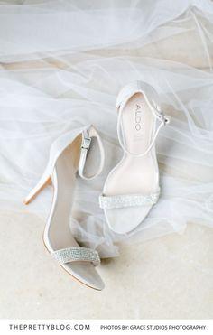 White Strap Wedding Heel with Small Diamante detail Wedding Heels, Chic Wedding, Aldo, Bridesmaid, Contemporary, Detail, Kicks, Weddings, Beauty