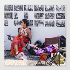 CINEMA REVOLUTION Stretched Canvas by Sébastien BOUVIER - $85.00 Decoration, Art Prints, Stretched Canvas, Portugal, Design, Mini, Decor, Art Impressions, Dekoration