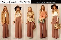 5 ways to wear them!