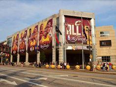 Downtown Cleveland! ! #NBAFINALS #ALLIN