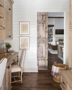 Love this kitchen decor with #rustic coastal accents @istandarddesign